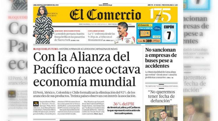 IDL se adhiere a demanda de amparo contra monopolio del grupo El Comercio