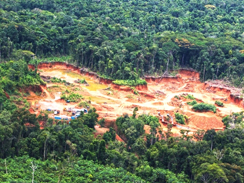 Defensoría del Pueblo pide intervención del Ejecutivo y Ministerio Público para frenar avance de la minería ilegal en el Cenepa