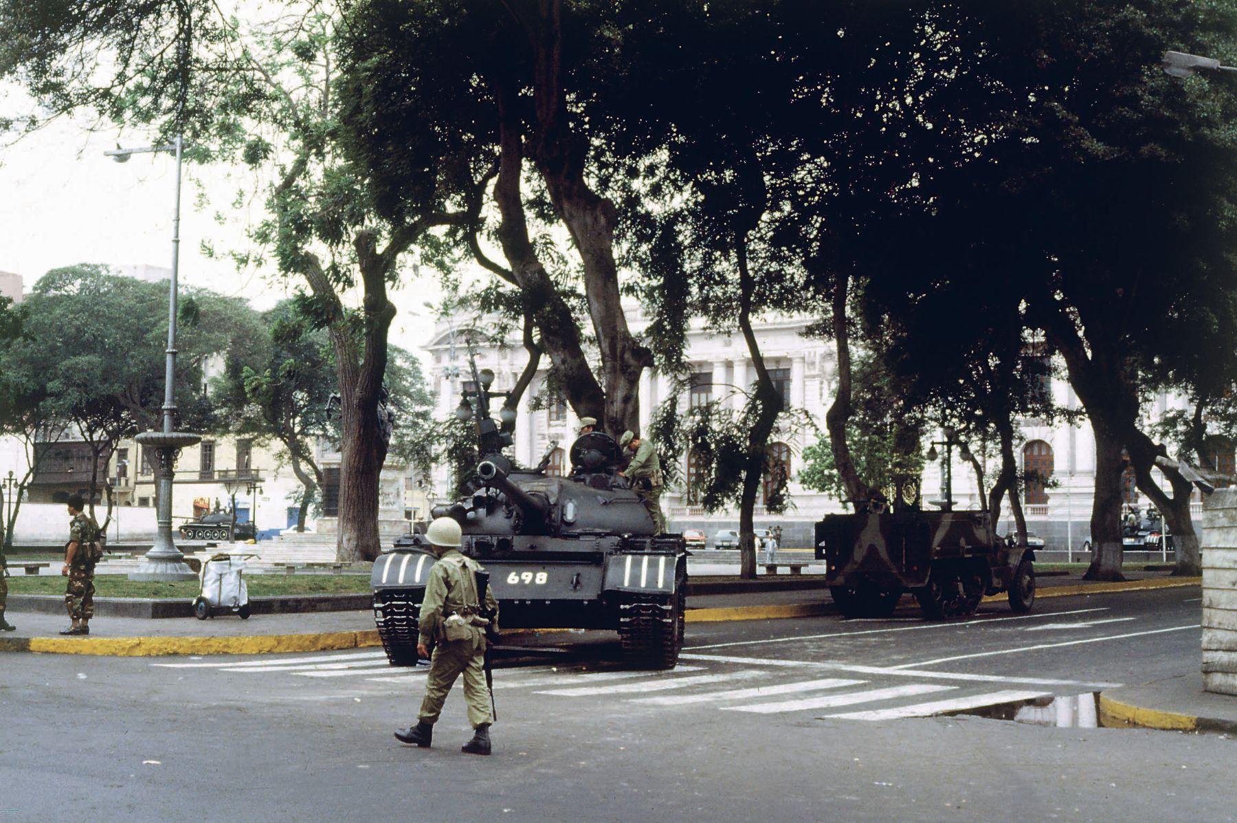 Fase final: Caso Golpe de estado 5 de abril 1992 y secuestro de políticos y periodistas