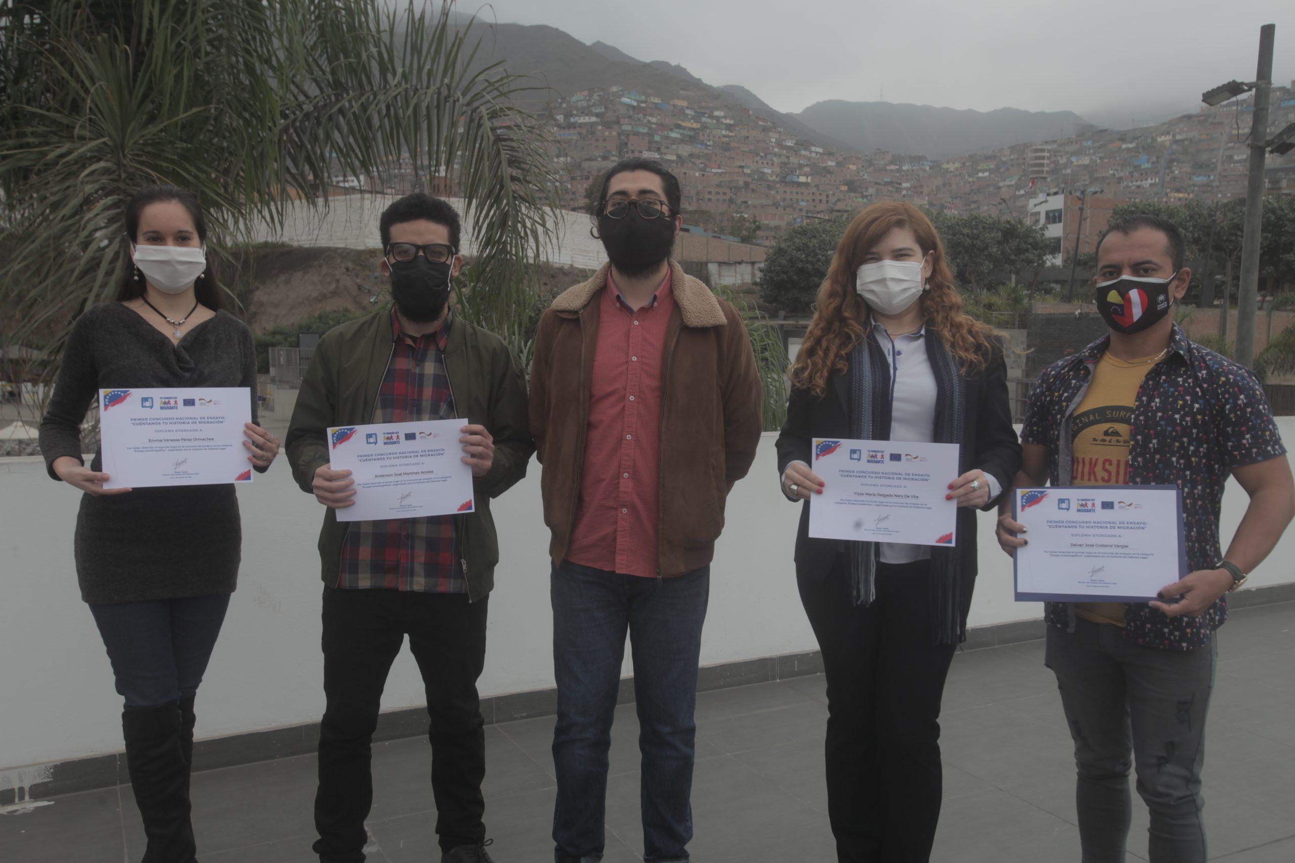 """IDL premia a ganadores del concurso """"Cuéntanos tu historia de migración"""""""