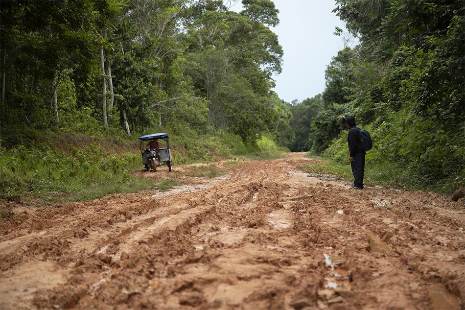 Procuraduría del Ministerio del Ambiente observa construcción de Carretera LO105 – Jenaro Herrera – Colonia Angamos en Loreto