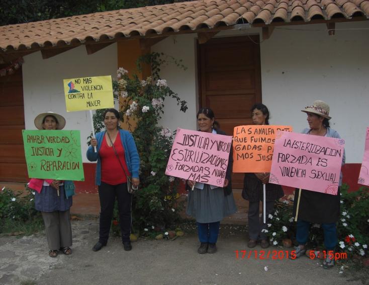 Víctimas de esterilizaciones forzadas exigen apertura de proceso penal  contra expresidente Fujimori y sus ministros