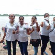 Mujeres Kukama dicen que su río Marañón es un ser vivo: demanda pionera presentada en Perú